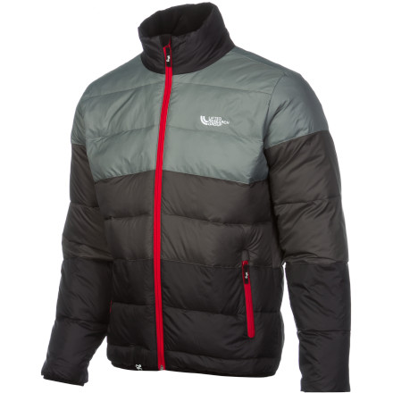 The LRG Frozen Lake Puffy Jacket harmoniously brings together two different purposes in one jacket. One part style and one part function make the Frozen Lake Puffy a piece that can go from chopping wood behind the barn to carousing through the city streets. - $101.47