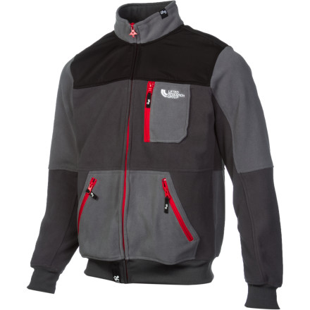 From Denali to the Tenderloin district, the Arctic Trail Fleece Jacket from LRG knows no boundaries. - $40.03