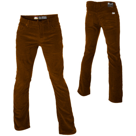 Skateboard If pro-skater Marc Johnson wants cords, he gets cords, and his name-sake MJ Stretch Cord Pant from Matix are the cords he got. Just a titch of Lycra gives these snug-fitting pants plenty of room to move so you won't feel tied up in the park. - $30.98