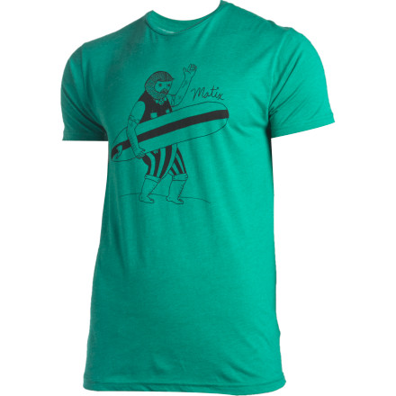 Surf Deep in your grandpa's attic lies a surfboard with a real story, but before you go rummaging, put on the short-sleeve Matix Old Timey T-Shirt and get him to tell you about it. - $14.27