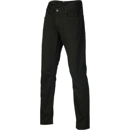 Skateboard Break away from your daily jeans and a T-shirt routine and cop the Matix Gripper Twill Men's Pant. It offers the same slim Gripper fit you're accustomed to, but with a lightweight twill fabric that still has a bit of spandex to allow freedom of movement when you're skating. - $41.97