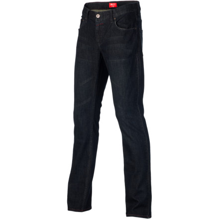Skateboard Get a slim fit look without putting your boys in a bind with the Matix Daewon Signature Patriot Men's Denim Pant. The Gripper fit is slim straight for a modern look that's not too tight, and a little spandex in the denim lets you skate without feeling restricted. - $44.82