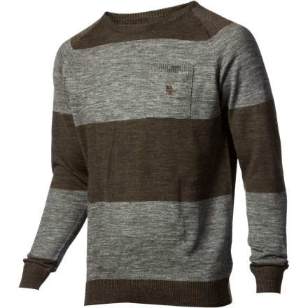 Chicks at the bar will be all over you when you show up in the Matix Torey Pudwill Signature Nabokov Men's Sweater, having no idea you just skated your grimy ass there after a long session with the homies. - $36.37