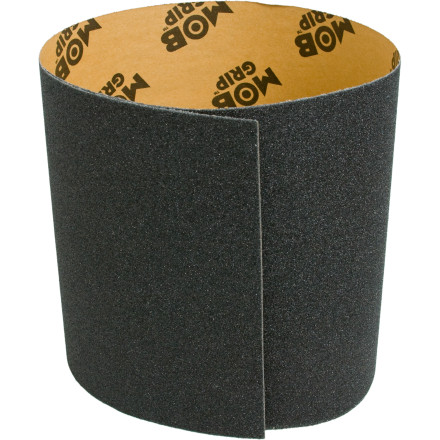 Skateboard Peel, stick, rub, file, and slice: you are now armed with the Mob Grip Tape and ready to shred anew. - $3.96