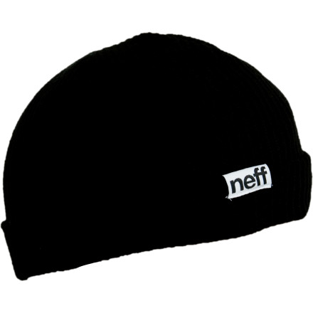 Skateboard The Neff Fold Beanie hides your smelly, nappy hair after a day of charging the mountain. - $15.95