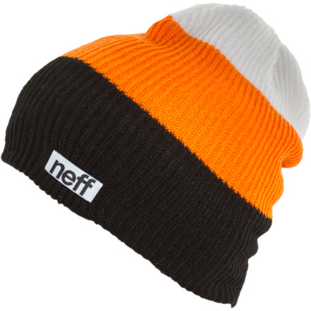 Entertainment Most of the time, when you buy a beanie, you get one color. It's standard. Once in a while a company will throw in a second color. That company is undoubtedly taking a loss on this transaction. They're saying 'here ya go, BAM, free color!' Neff takes it to the next level with the Trio Beanie. Just imaginetwo free colors! So, feel free to get a Trio. Just keep in mind, if you buy too many, you'll probably put Neff out of business. And that's just mean. - $17.95