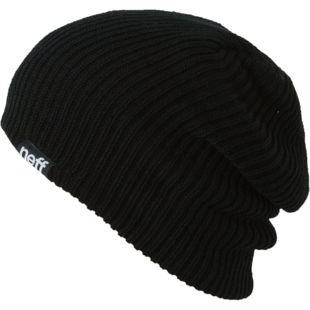 Sports Big fancy fruit hats, sports team paraphernalia, fad-tastic fedoras; these are all a waste when all you need is the Neff Daily Double Beanie to keep your head warm and your style all your own. - $19.95