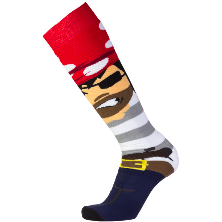 Snowboard Remember when you were a kid, your old man would say 'it builds character' every time you complained about something Well, the Neff Character Socks are so comfortable, they're guaranteed not to build any character. In fact, they might even turn you into an entitled jerk-off. Try not to let that happen. - $13.97