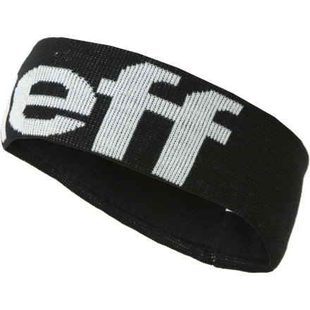 Snowboard Pull on the Neff Big Hit Headband, and leave a hazy contrail from your lift chair thatll take those old people behind you back to their hippie days. This fat headband covers your chilly ears and greasy bedhead while you tear up the park or the halfpipe. - $15.95