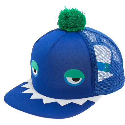 Skateboard The fortified wall of seriousness in adults needs to come down. Luckily, the Neff Monster Trucker Hat provides a serious opportunity to topple the grumpy regime and insert much-need silliness and medical-grade laughter. - $12.98