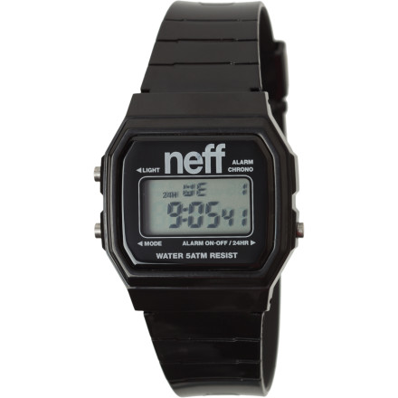 Entertainment To look like a boss, you won't need to rock a crazy top hat, wear an oversized clock as necklace, or even host a show where floozies compete for your affection. All you really need is the Neff Flava Watch and the ability to administer a firm high-five. - $19.95