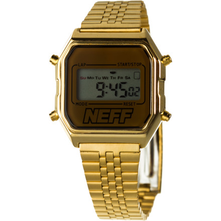 Entertainment The best part about the Neff Lux Watch is that if you traveled in time, either forward or back, it would be regarded as cool. Perhaps that's what Neff means by 'timeless style.' Which is totally ironic when you're referring to a watch. - $26.96