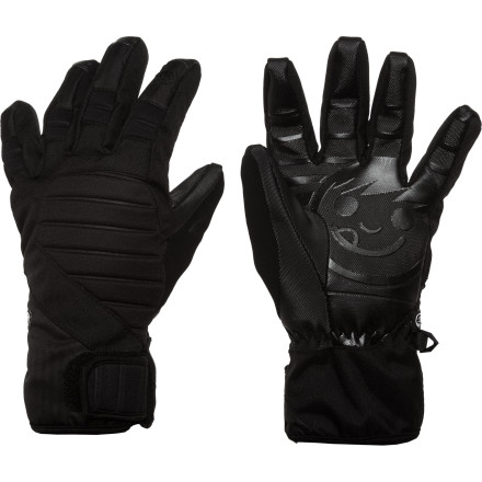 Skateboard The Neff Women's Digger Glove keeps you covered all season long with superb fleece comfort,  quick-drying Primaloft warmth, and the perfected waterproofing of the HiPora membranein a low-profile shape that could be mistaken for a pipe glove. - $26.97