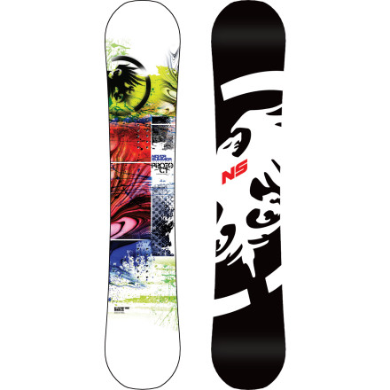 Snowboard The do-anything Never Summer Proto CTX Wide Snowboard offers all-mountain versatility to those with bigger feet. Bomber construction holds up to abuse from rails and cliff drops alike, and the R.C. hybrid profile gives you the float you want in pow and the edge hold and power you need on hardpack. - $384.99