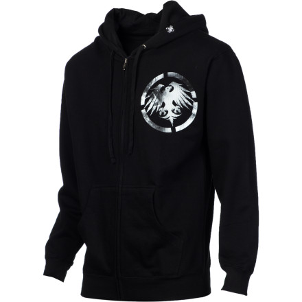 Throw on the Never Summer Eagle Hooded Sweatshirt for your endless days in search of the almighty pow. - $39.87