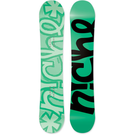 Snowboard Made with an even and playful flex for pressing, popping, and locking with easeand recycled and natural materials to go easy on the earththe Niche Women's Minx Snowboard will enable you to unleash your prowess on the park without taking a toll on the earth. - $199.98