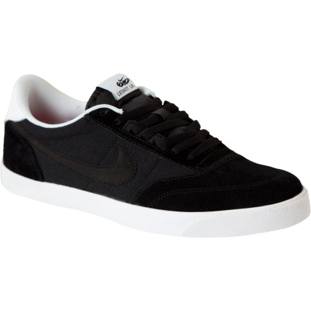 Skateboard Zip through city streets and gaps in park crowds with the Nike 6.0 Men's Zoom Leshot LR Skate Shoe on your foot, and you'll experience a whole new feeling. The Zoom Leshot's smooth and suede leather upper is what's visible, but Nike's Zoom cushioning (ultra-thin pressurized air units in the heel and forefoot) are what set this athletic shoe apart from other skate kicks. Feel your board better without sacrificing cushion and comfort when it's time to kiss the ground with your sole. - $37.48