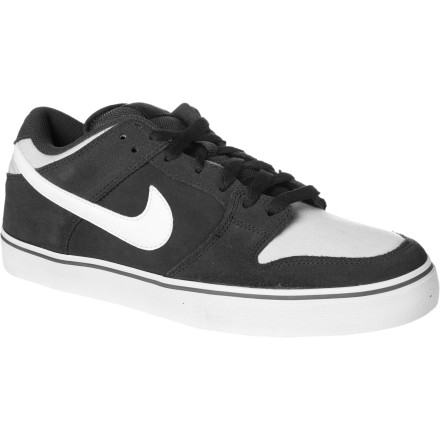 Skateboard The Nike Dunk Low LR Skate Shoe features a super-light, super-cushy Phylon midsole for impact absorption, and cupsole construction that offers just the right amount of flex and board control. - $71.96
