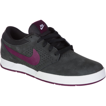 Skateboard Paul Rodriguez has long been a standout presence on the contest scene. He has churned out noteworthy video parts and done his bit to redefine modern street-skating. Meanwhile, in the shoe world, the Nike Paul Rodriguez 5 Skate Shoe, like its namesake, is also doing some game-changing. - $44.98
