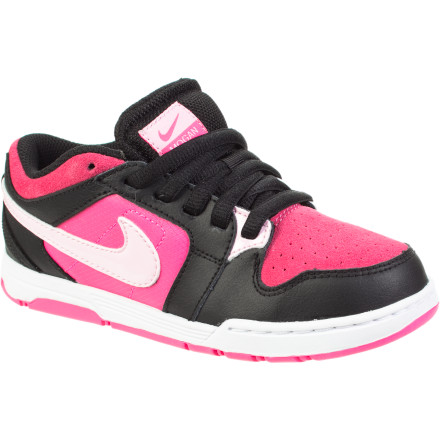 Skateboard The Nike Girls' Mogan 3 Jr Skate Shoe was developed to offer supreme comfort and durability for skateboarding but is stylish enough to be worn anywhere. - $39.96