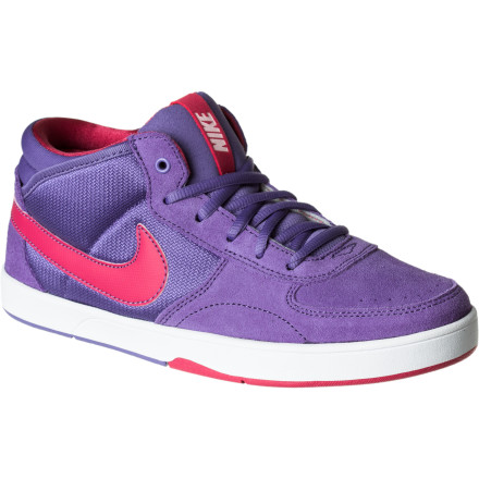 Skateboard The Nike Girls' Mavrk Mid 3 Skate Shoe was developed with high standards in lightweight impact protection and durability. The Girls' Mavrk Mid 3 also keeps things breathable with a moisture-managing mesh liner. A durable upper and Nike's Swoosh make this kick just right for any sneaker-freaker. - $32.97