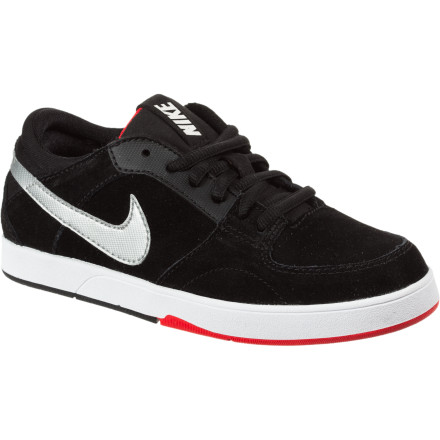 Skateboard Fly high with the Nike Boys' Mavrk 3 Skate Shoe. And when gravity enforces its law on all that high flying, The Mavrk 3's Phylon midsole will cushion the fall and who knows, maybe prevent some nasty heel bruising. - $28.77