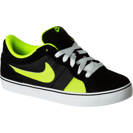 Skateboard The Nike Boys' Isolate LR Skate Shoe is here to isolate your foot from ill-fitting kicks and present you with its superb fit fit and exquisite style. A durable upper with reinforced impact areas shrugs off abrasion and the vulcanized gum rubber outsole provides top-notch board feel and traction. - $28.77