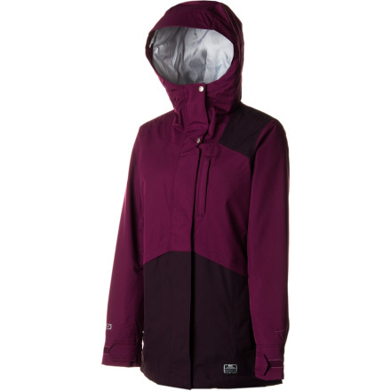 Snowboard Emerge victorious from foul weather with the Nike Women's Keswick Jacket. The Keswick packs a punch full of cold-crippling tech such as zonal synthetic insulation, Storm-FIT 10 waterproofing, and a sturdy PU laminate that will cause snow and rain to bead up and roll off your shoulders before you can even brush them off. But if you still want to brush your shoulders off, go right ahead, sister. - $107.97