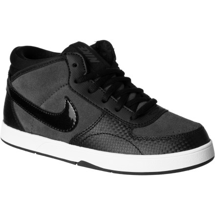 Skateboard Get him back to school in style in the Nike Mavrk Mid 3 Little Boys' Skate Shoe. It's super-comfy to keep him happy throughout the day, and durable to handle whatever he manages to inflict upon them. After all, boys will be boys. - $29.97