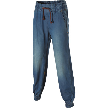 While everyone else is at home trying to bedazzle their jean pockets, you'll be rocking real fashion in the Nikita Women's Departure Denim Pants. These give you cutting-edge style and trend-setter status. - $78.95