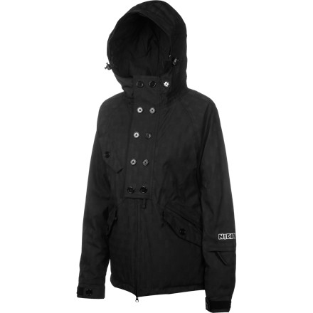 Snowboard Zip up in your Nikita Women's Markham Jacket when you're ready to add some serious edge to your snowboarding kit. This insulated jacket keeps you cozy in clean, fashion-forward style so you'll feel comfy from the park to the lift, and you'll look great everywhere in between. - $107.53