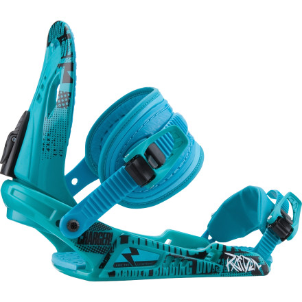 Snowboard The Raiden Charger Youth Binding is specifically designed to take Junior's riding to the next level. Easy adjustments, cushy straps, and reliable aluminum ratchets mean more time riding and less time fiddling with equipment. - $65.97