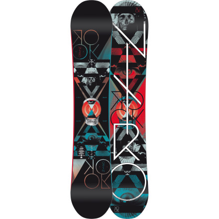 Snowboard The Nitro Rook Snowboard has already won more awards than you probably will throughout your entire life. Pick one up and experience the park-dominating awesomeness that comes courtesy of the Rook's zero-camber profile, extra-beefy Railkiller edges, and ollie-enhancing Pop Bands. - $349.97