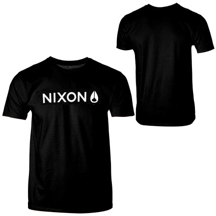 The Nixon Men\\222s Wordmark Short-Sleeve T-Shirt keeps it real with a simple typeface that doesn\\222t overcomplicate your style. - $13.97