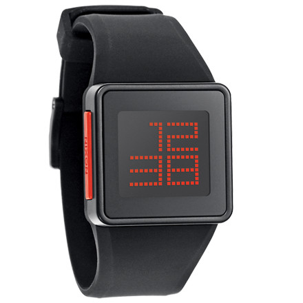 Entertainment Devote your thoughts to physics, and leave the time-telling to the Nixon Newton Digital Watch. A simple, single-button toggle switches from time to day-and-date, so you'll always remain punctual no matter how many apples fall on your dome. - $79.95