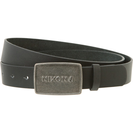 The Nixon Wordmark Raw Belt adds a touch of straightforward Nixon style to your look. Plus, it keeps your pants from sagging and doing that weird thing in the crotch where it looks like ... . Well, let's just say you should probably wear a belt. - $14.98