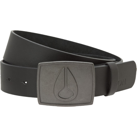 Nixon Men's Icon Raw Belt doesn't make New Year's resolutions because it can't get any more badass than it already is. - $17.48