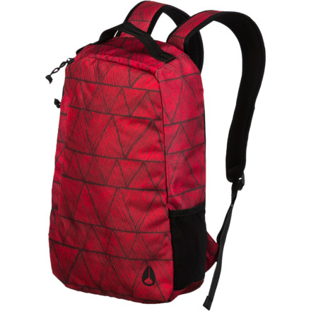 Camp and Hike The Nixon Arch Backpack is for the person who does a lot of work on their computer on the go. It has a padded laptop compartment to keep your computer or tablet protected so it can safely travel with you wherever you decide to venture. - $34.97