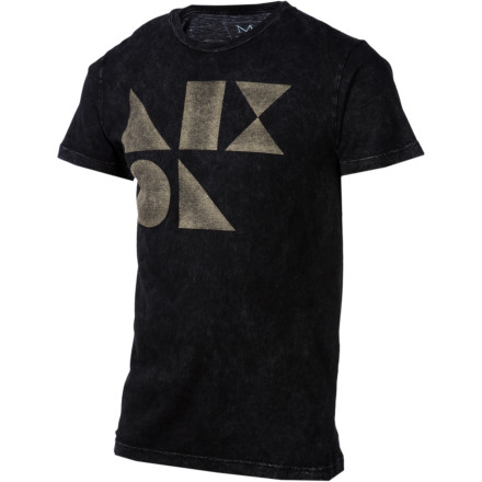 Throw on the Nixon Dieter Short-Sleeve T-Shirt before you get wasted and sneak in through your girlfriend's window. People always freak out when you do that shirtless, especially when you accidentally sneak into the wrong house. - $20.97