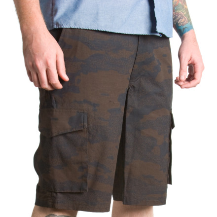 Surf The Nomis Cargo Short steps in when your board shorts just can't pull off the evening. You can also carry a bunch of junk in the pockets. - $23.98