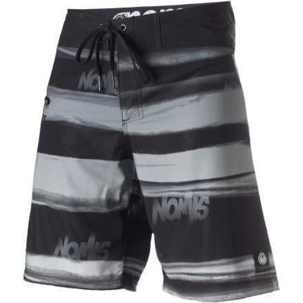 Surf Looking for some boardies with a more modern cut The Nomis Focus Board Short features a slightly shorter length that helps avoid hanging up on your kneecaps when you pop up out of your paddle. Stretch poly fabric dries in a flash to keep you comfy and chafe-free in and out of the water. - $32.97
