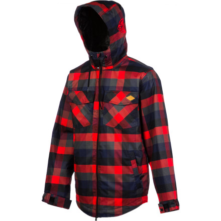 Snowboard Do whatever you want to do in the Nomis True Flannelthe Mountain Patrol won't say 'boo' to a full-blown badass lumberjack early '90s grunge-rocker. Even if you don't exactly qualify for this title, they won't ask questions and you won't have to slow down. - $134.98