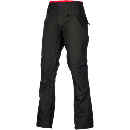 Snowboard Don't be subject to the whims of mother nature this winter; stay strong with the Nomis Guru Women's Snowboard Pant. It has a DWR-treated polyester fabric that repels moisture to keep you dry when the snow is coming down, so you don't have to call it a day when the weather takes a turn for the worse. - $104.47