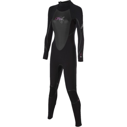 Surf Looking for a little extra warmth and a more shapely fit from your wetsuit Try the O'Neil Women's D-Lux 3Q Zip 4/3 Wetsuit on for size. Made with 100% stretch neoprene and a warm chest panel that also stretches, this suit focuses on feminine style lines and in-the-lineup performance. O'Neill's female shredders sacrificed valuable office time so they could help to design this suit based on feedback as a result of actually surfing. We feel so bad for them .... - $231.96