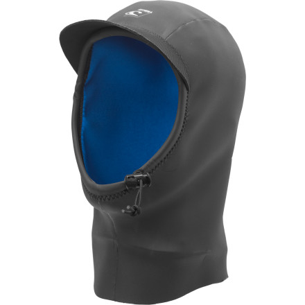 Surf Charge cold surf while wearing the O'Neill Gooru RG8 Wetsuit Hood and you'll stay extra warm, you'll still be able to turn your head freely, and you'll have a little protection from the sun overhead. Even a thin, flexible hood like the RG8 allows you to stay out longer on cold days (and everyone knows that cold days are when the surf is less crowded because all the knuckleheads are at home in their hot tubs). - $35.96