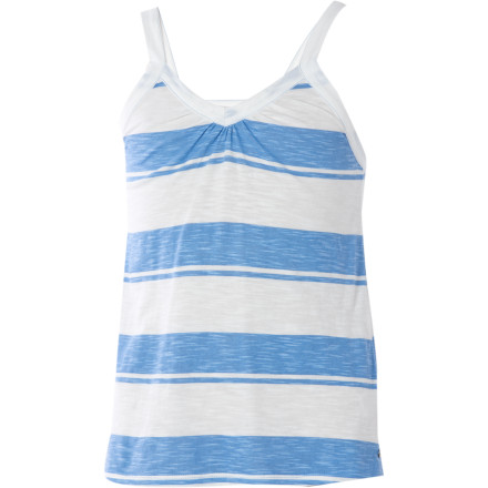 Entertainment The O'Neill Girls' Louise Tank Top serves up fresh, summery style that that will make you want to take a walk to the corner store to buy some ice cream and a friendship bracelet. - $15.98
