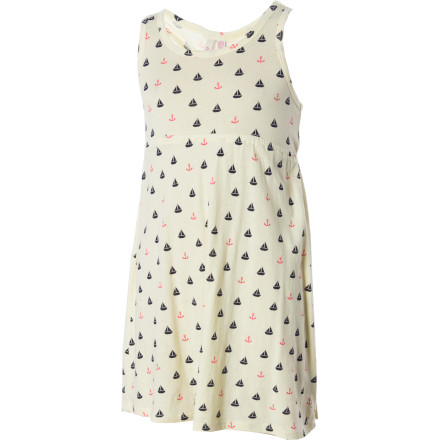 Entertainment The O'Neill Girls' Sunflower Dress has all the makings of a super-comfortable party dress to wear for your big day. - $14.73