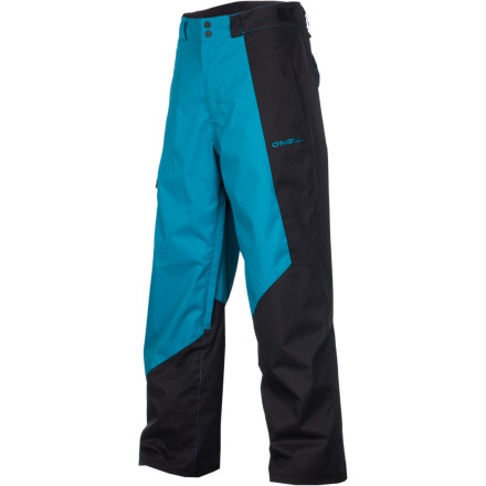 Snowboard If your daily line-up includes styled park sessions, backcountry booters, and straight-lining out the bottom of powder-filled bowls, the O'Neill Men's Line-Up Pant is your go-to choice for taking care of your lower half. Firewall insulation works with the burly waterproof and breathable shell fabric to keep you toasty warm and dry so you can spend all day working on stomping the perfect landing. - $104.96