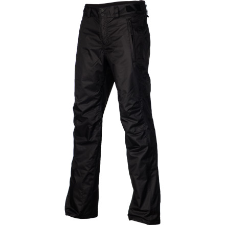 Snowboard The O'Neill Women's Escape Star Pant almost looks like something that you'd wear around town thanks to its clean style, but it's designed to let you shine on the hill. You know that your ability is what makes you stand out, but the swag you rock puts that extra frosting on the top and makes it your own. - $58.48