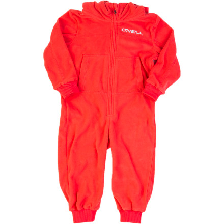 Surf Get your little lady zipped up in the O'Neill One-Piece Fleece Suit before buttoning down her jacket and pants and sending her out on a mission to make snow angels. The brushed fleece is so soft, warm, and comfy that she might throw a tantrum when you try to take it off. - $32.97